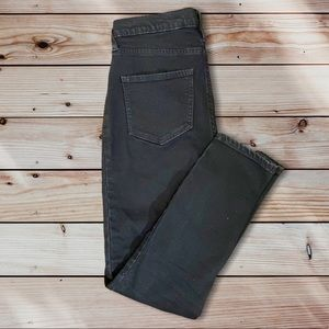 Black Calvin Klein Skinny Jeans with Button Fly
